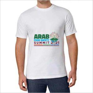 Arab Food Safety Summit T Shirt