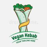 kebab shawarma logo design vector template label turkish arabian fast food 196767478 1