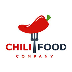 pngtree red chilli food logo design your company image 334205